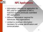 npi applications26