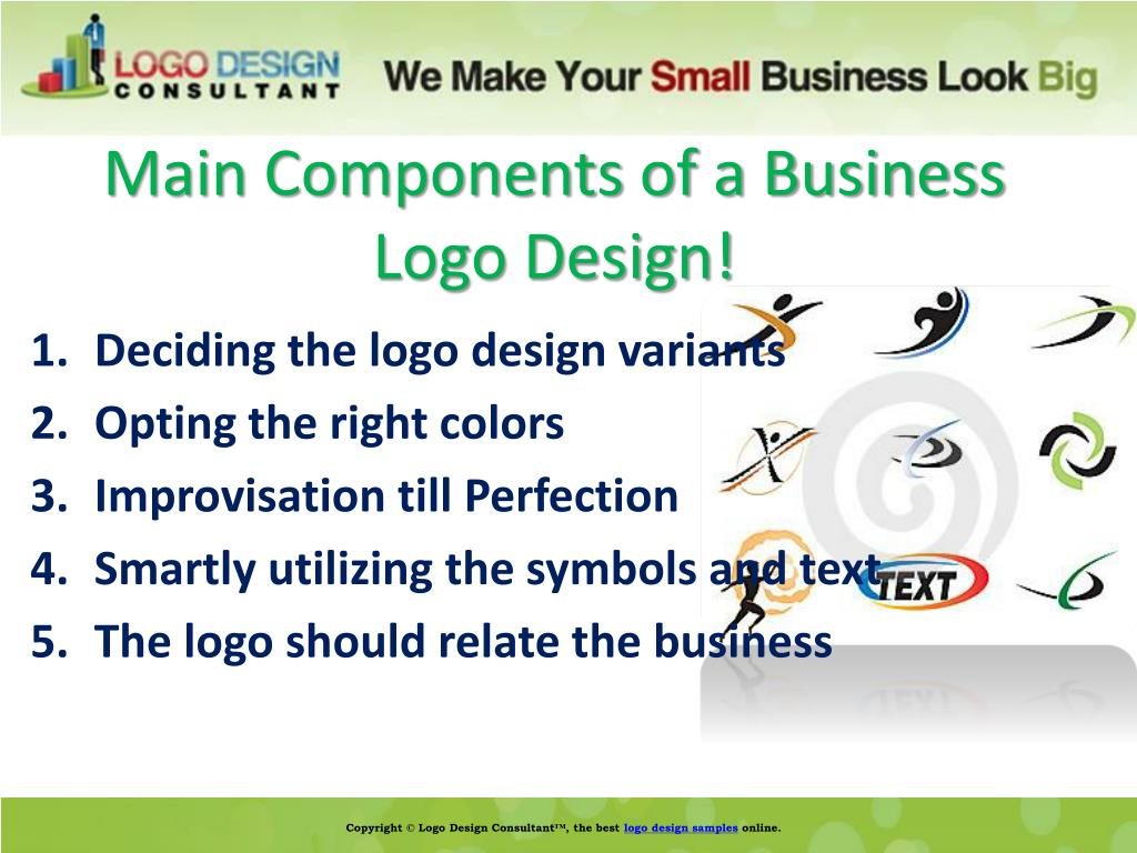Main Components of a Business Logo Design!