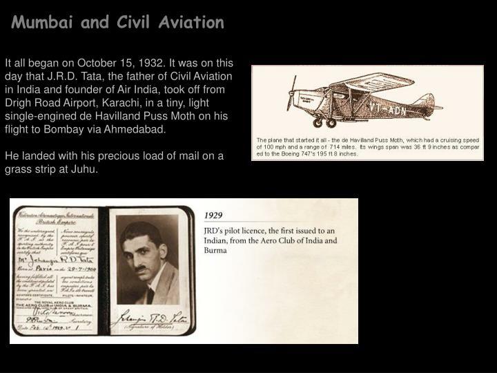 Mumbai and Civil Aviation