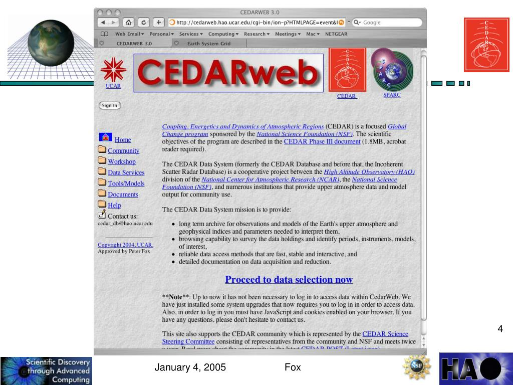 CEDARWEB