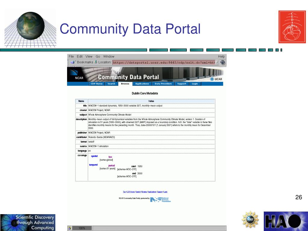 Community Data Portal