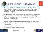 earth system grid overview