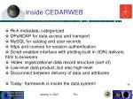 inside cedarweb