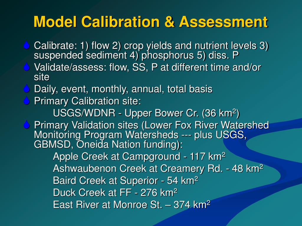Model Calibration & Assessment