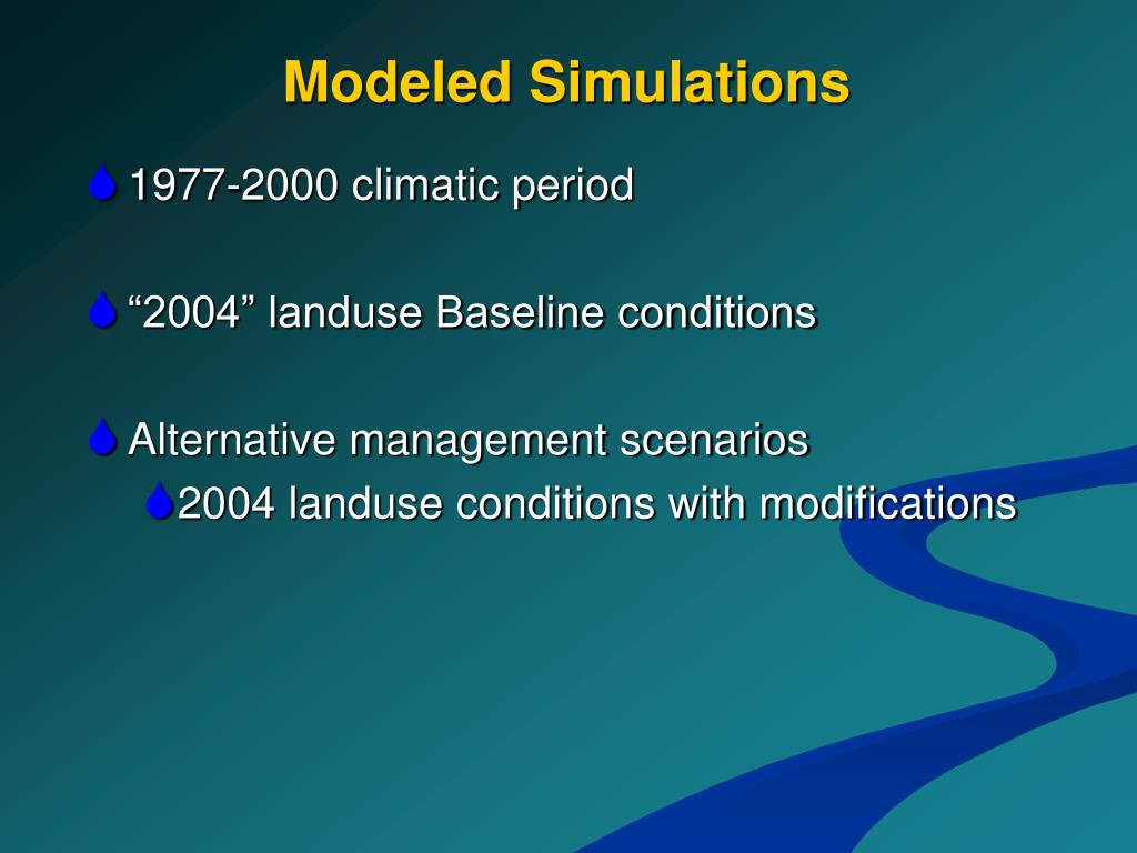 Modeled Simulations