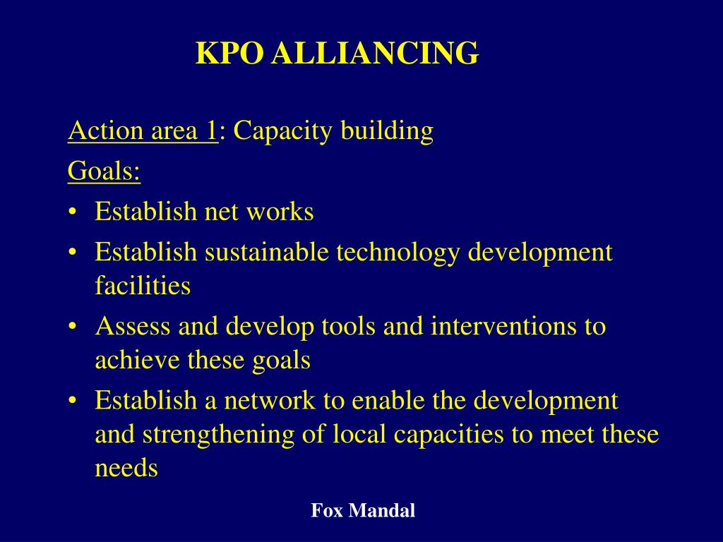 KPO ALLIANCING