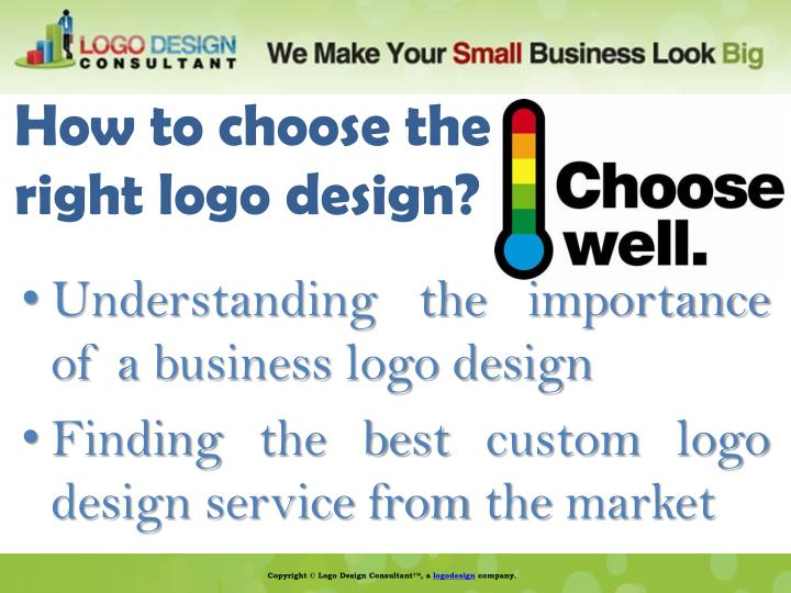 How to choose the right logo design