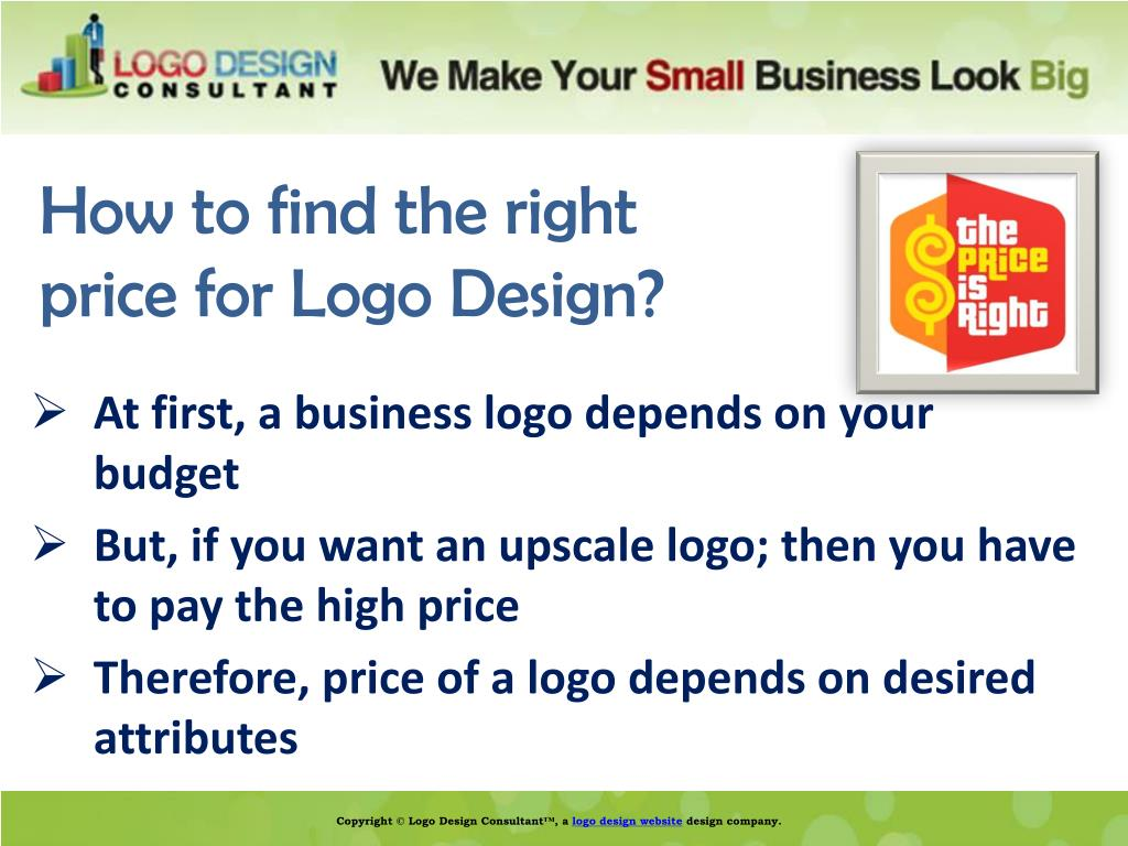 How to find the right price for Logo Design?