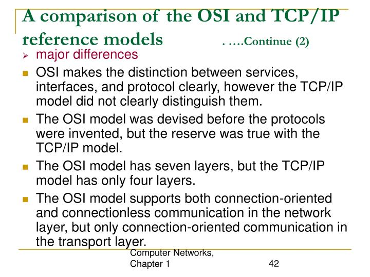 Computer Networks, Chapter 1