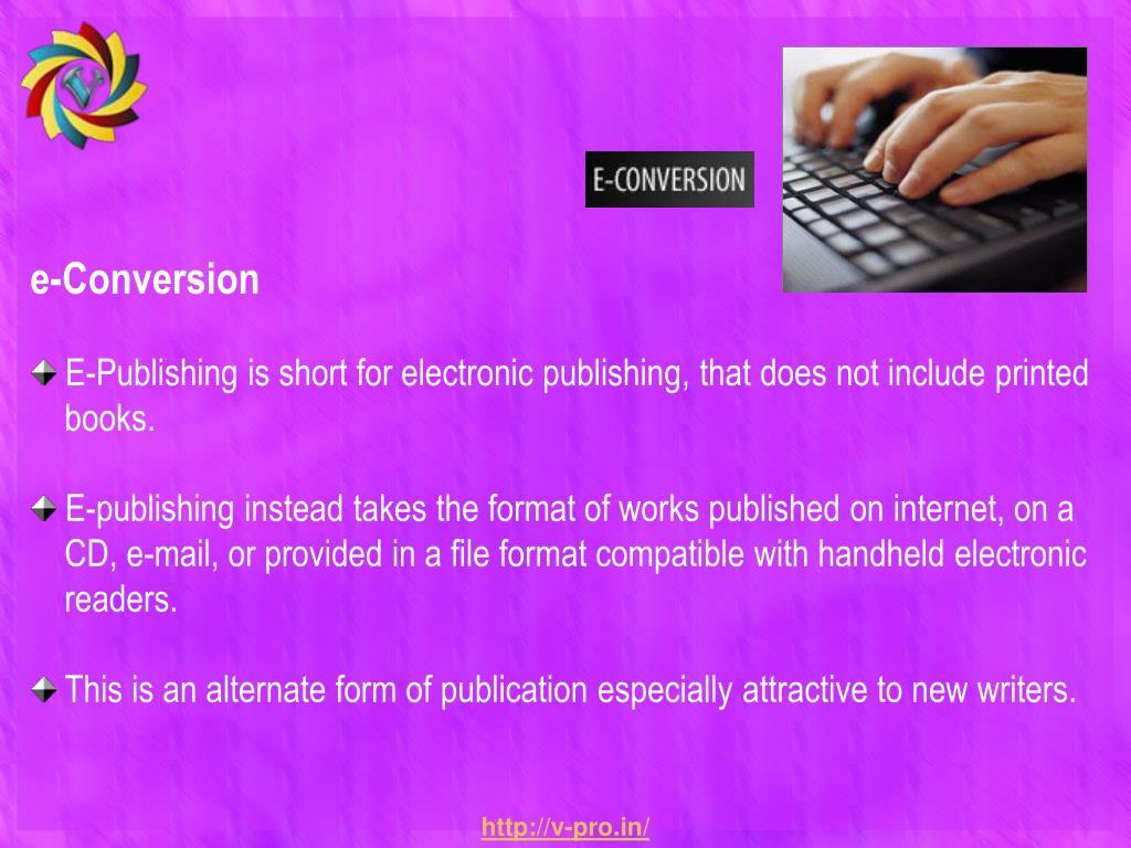 e-Conversion