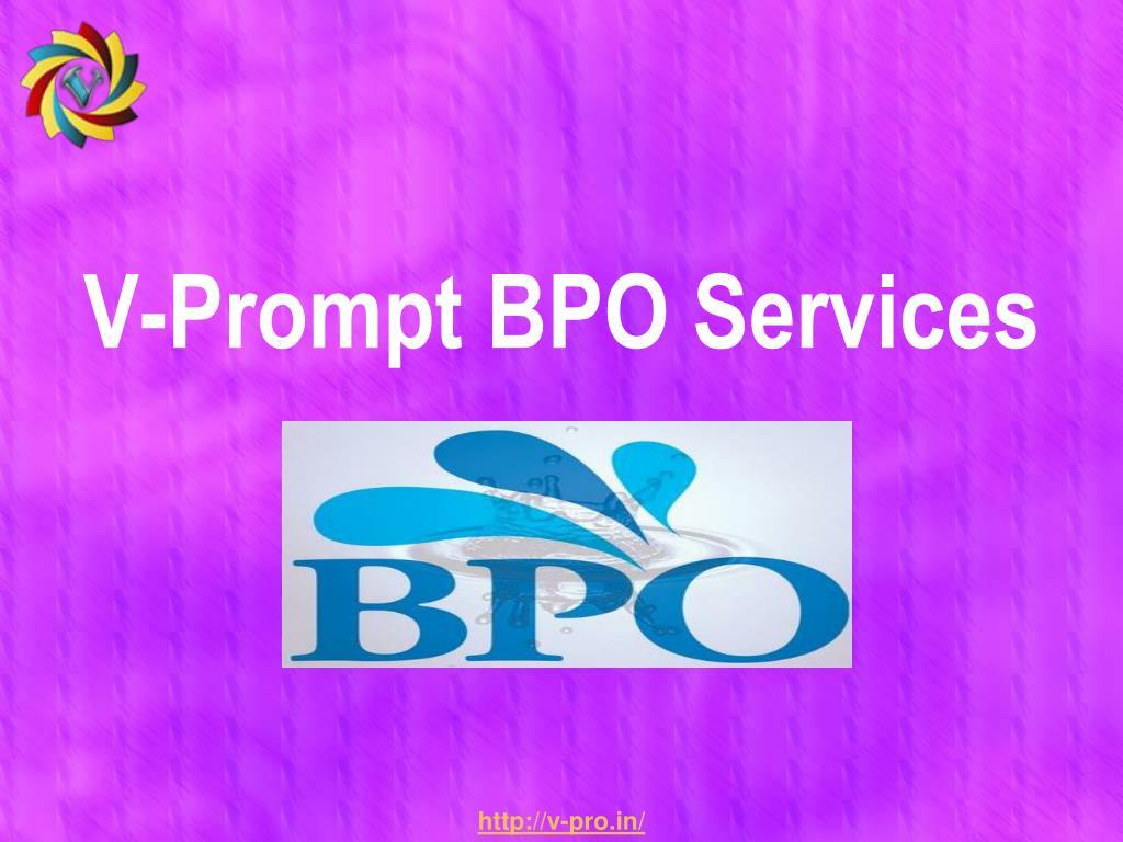 V-Prompt BPO Services