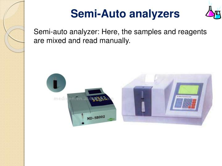 Semi Auto Analyzer Ppt Presentation