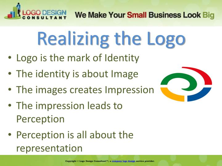 Realizing the Logo