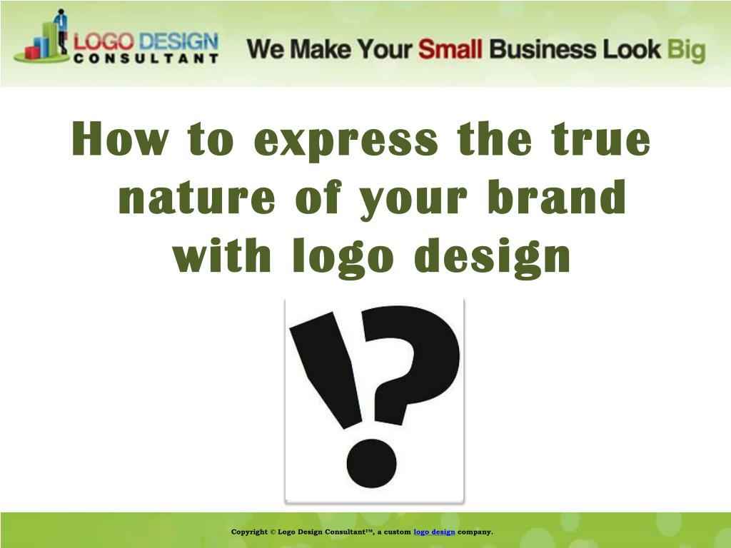 How to express the true nature of your brand with logo design