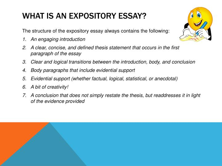 What is an expository essay1