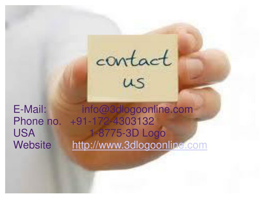 E-Mail:    info@3dlogoonline.com