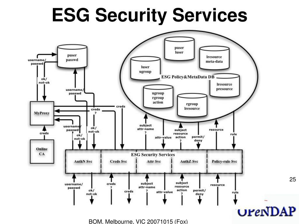 ESG Security Services