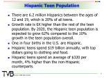 hispanic teen population