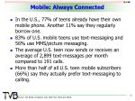 mobile always connected