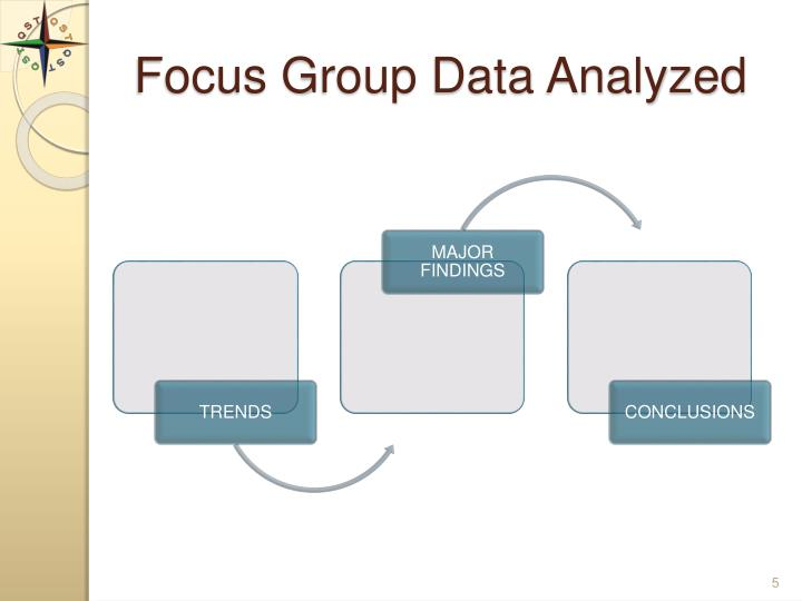 Focus Group Data Analyzed