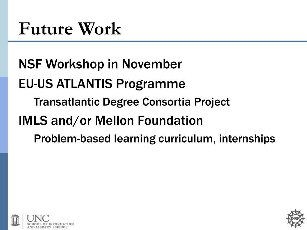 NSF Workshop in November