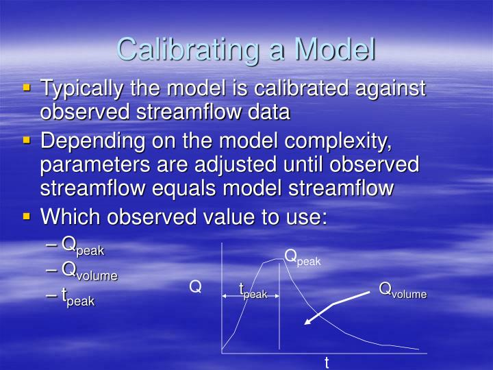 Calibrating a Model