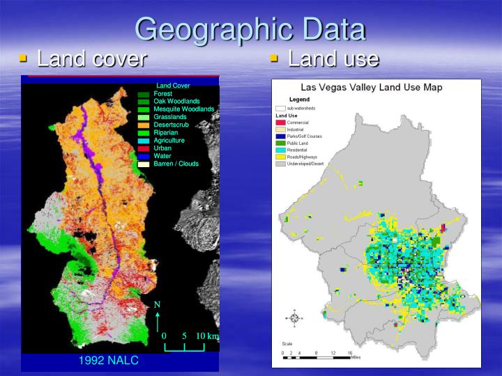 Geographic Data