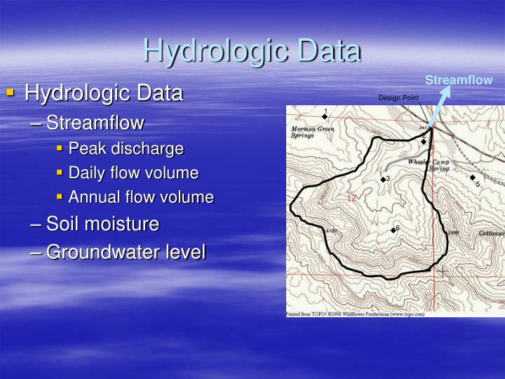 Hydrologic Data