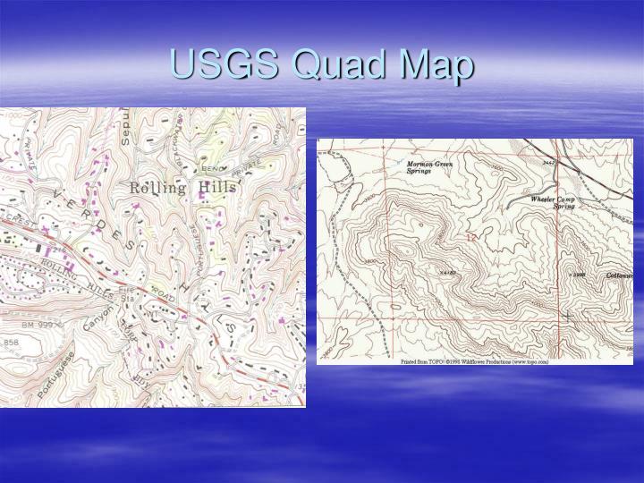 USGS Quad Map