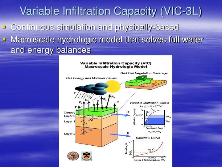 Variable Infiltration Capacity (VIC-3L)