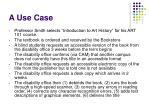 a use case