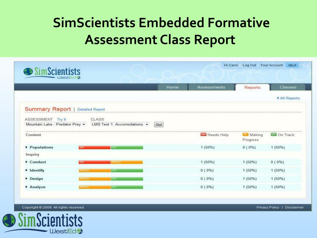 SimScientists