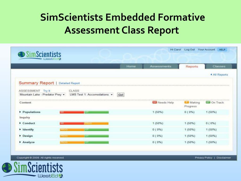 SimScientists