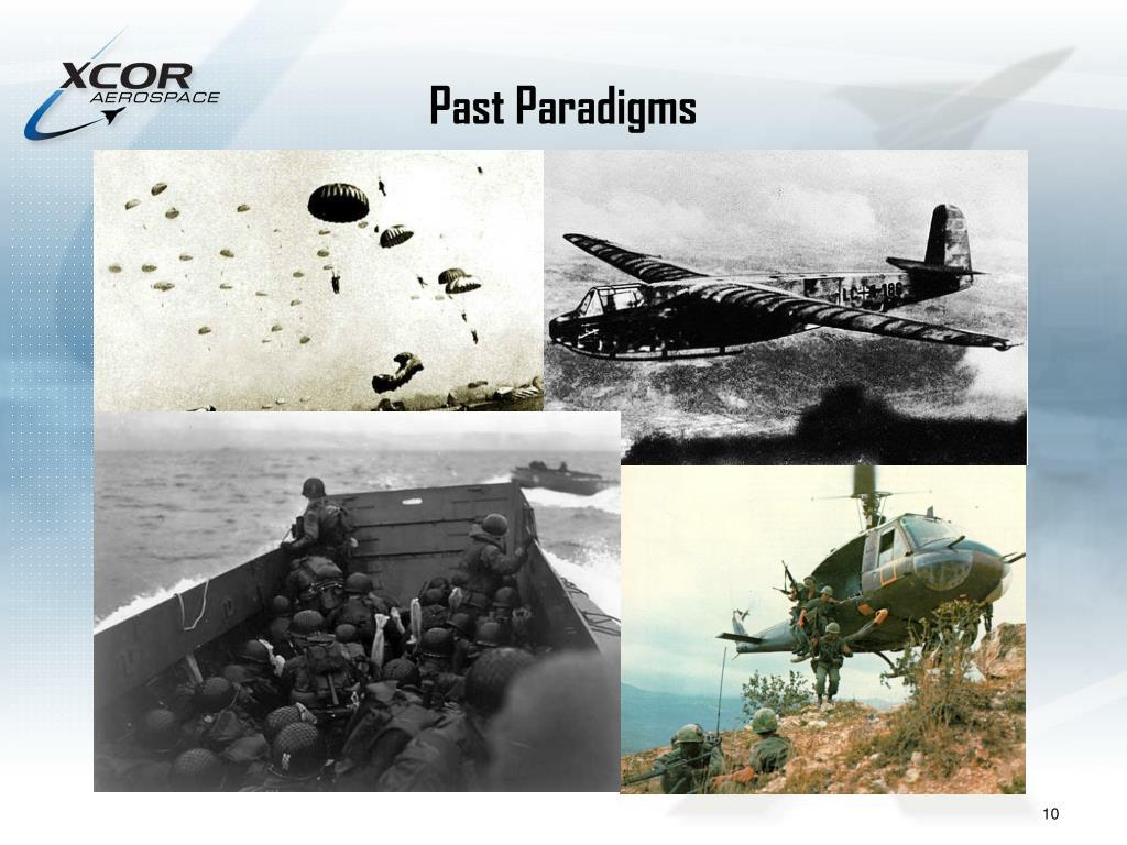 Past Paradigms