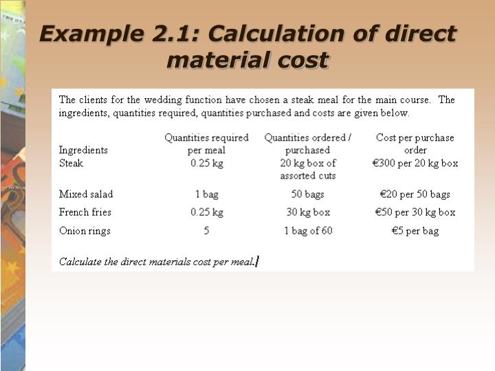 cost classification and material management Free essay: q give an overview of cost classification and material management: ans: cost classification: ( introduction: in this assignment i will be.