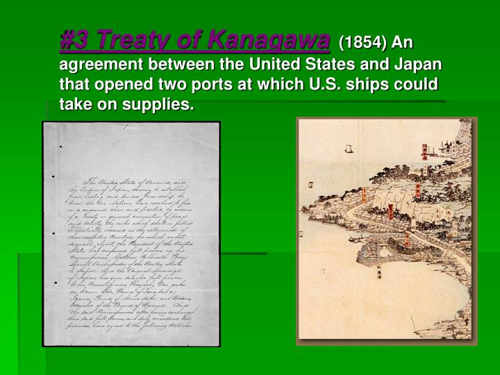 #3 Treaty of Kanagawa