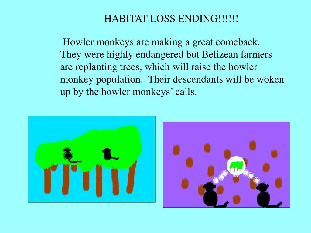 HABITAT LOSS ENDING!!!!!!