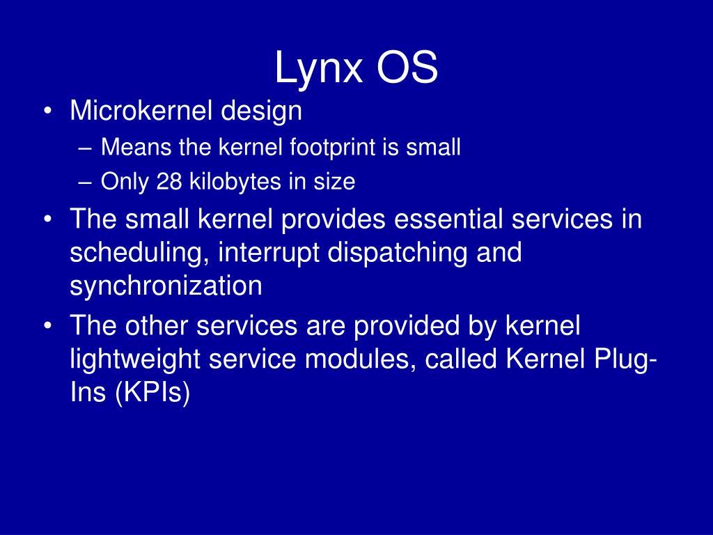 Lynx OS