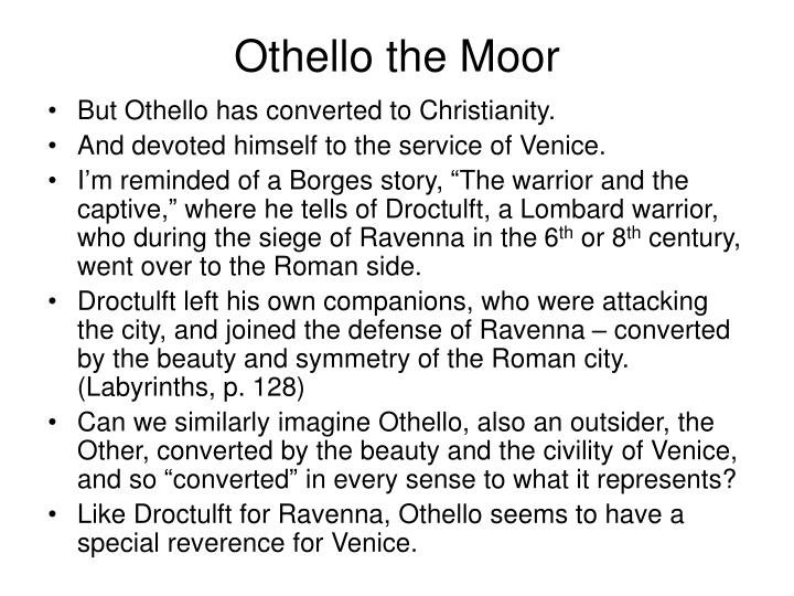 Othello the Moor