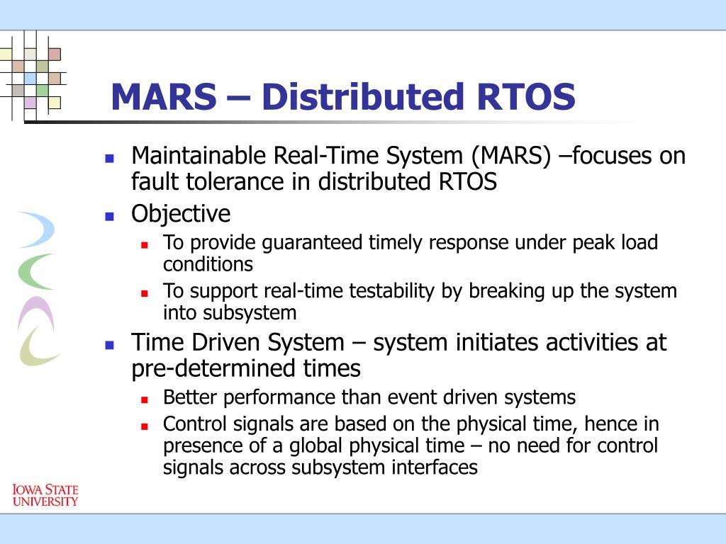 MARS – Distributed RTOS