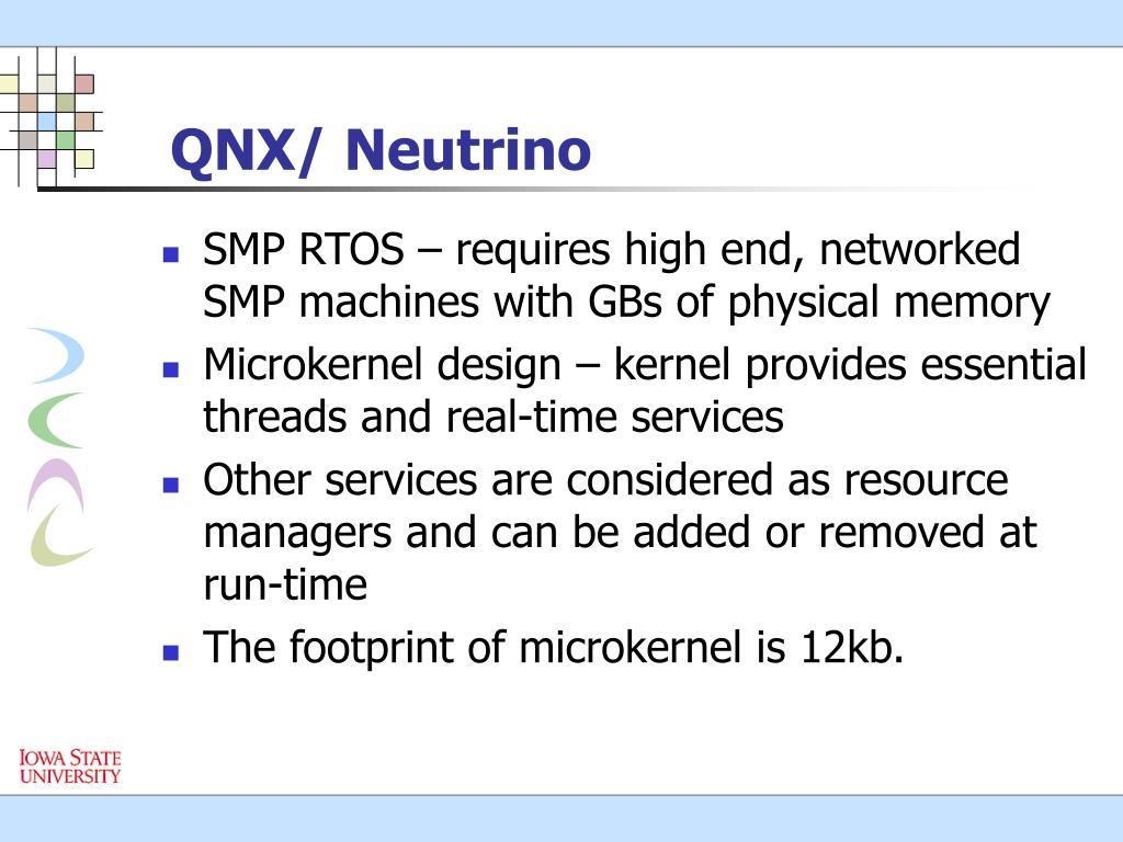 QNX/ Neutrino
