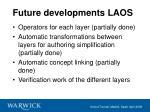 future developments laos36