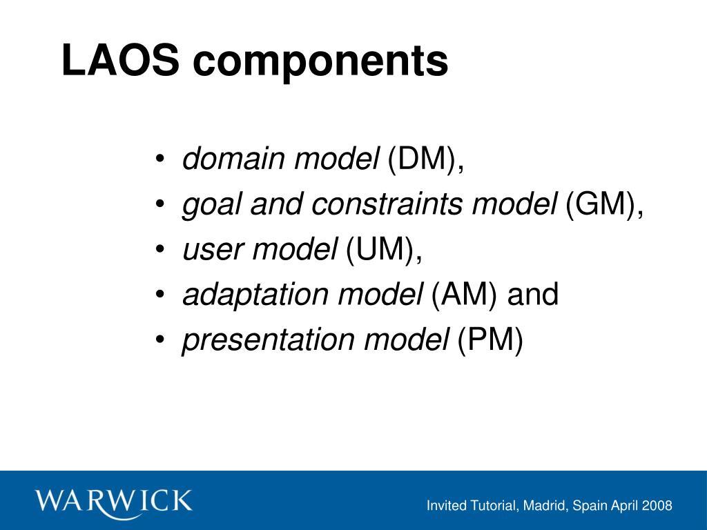 LAOS components