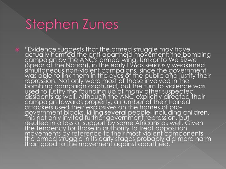 Stephen Zunes