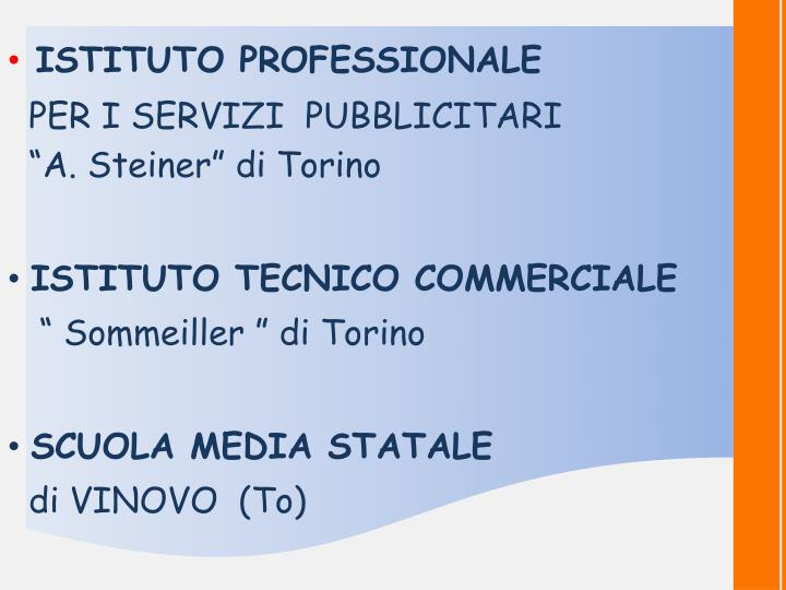 ISTITUTO PROFESSIONALE