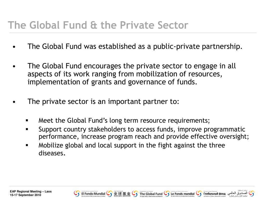 The Global Fund & the Private Sector