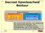 decreet openbaarheid bestuur2