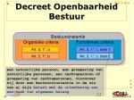 decreet openbaarheid bestuur3