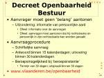 decreet openbaarheid bestuur7