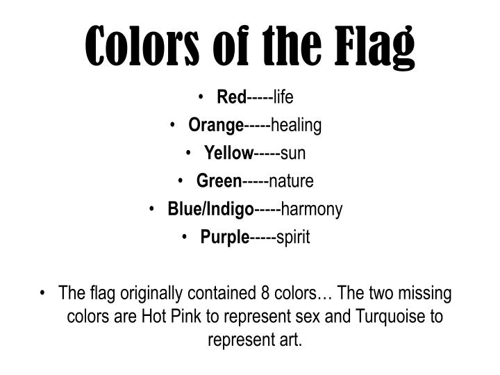 Colors of the Flag